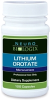 Lithium Orotate by Neurobiologix (120 Capsules)