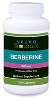 Berberine 500mg  by Neurobiologix (120 Capsules)