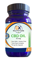 GX Nutrition 15mg CBD Oil Capsules (60 Capsules) - NEW!