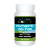 Pantothenic Acid Plus by Neurobiologix (120 Capsules)