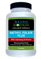 Methyl Folate Plus by Neurobiologix - 90 Capsules