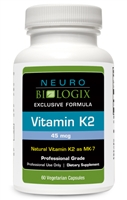 Vitamin K by Neurobiologix (60 Capsules)