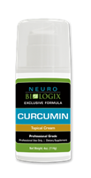 Curcumin 4 oz Topical Cream by Neurobiologix (65 Pumps)