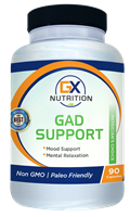GX Nutrition GAD Support - 90 Capsules - NEW!