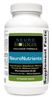 NeuroNutrients with Iron by Neurobiologix (120 Capsules)