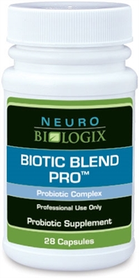 Biotic Blend Pro by Neurobiologix (28 Capsules)