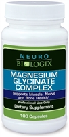 Magnesium Glycinate by Neurobiologix (100 Capsules)