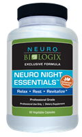 Neuro Night Essentials by Neurobiologix (60 Capsules)