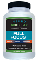 Full Focus by Neurobiologix - 120C (Concentration & Mood)