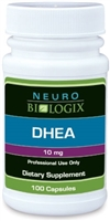 DHEA 10mg by Neurobiologix (100 Capsules)