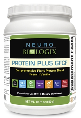Protein Plus GFCF (French Vanilla) by Neurobiologix (28 Scoops)