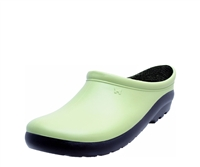 Women's Premium Garden Clogs - Kiwi Green