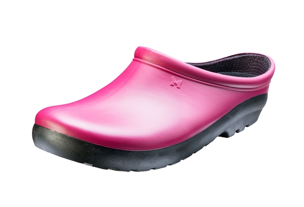 Women's Premium Garden Clogs - Sangria Red
