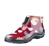 Sloggers Made in the USA Barn Boots -Barn Red Chicken Print