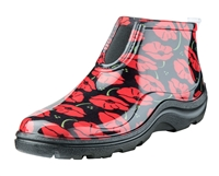 Sloggers Made in the USA Ankle Boots - Red Poppies