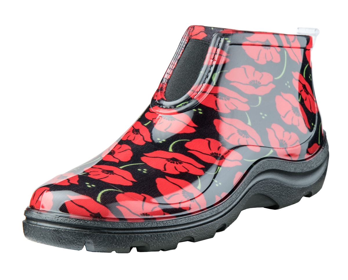 bca252d68ca Sloggers Made in the USA Ankle Boots - Red Poppies