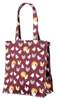 Chicken Print Tote Bag