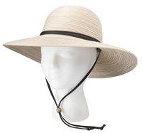 Sloggers Women's Braided Hat Earth Stone UPF 50+