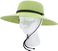 Sloggers Women's Braided Hat Tea Green UPF 50+