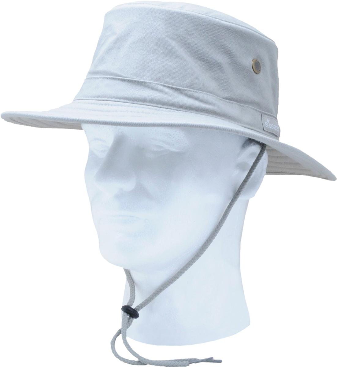 3326bd6b84e Sloggers Cotton Sun Hat with Wind Lanyard UPF 50+ Maximum Sun Protection