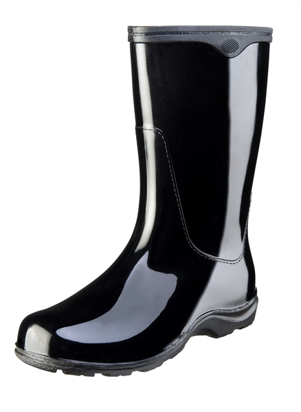 Sloggers Made in the USA Women's Rain Boots Midnight Black