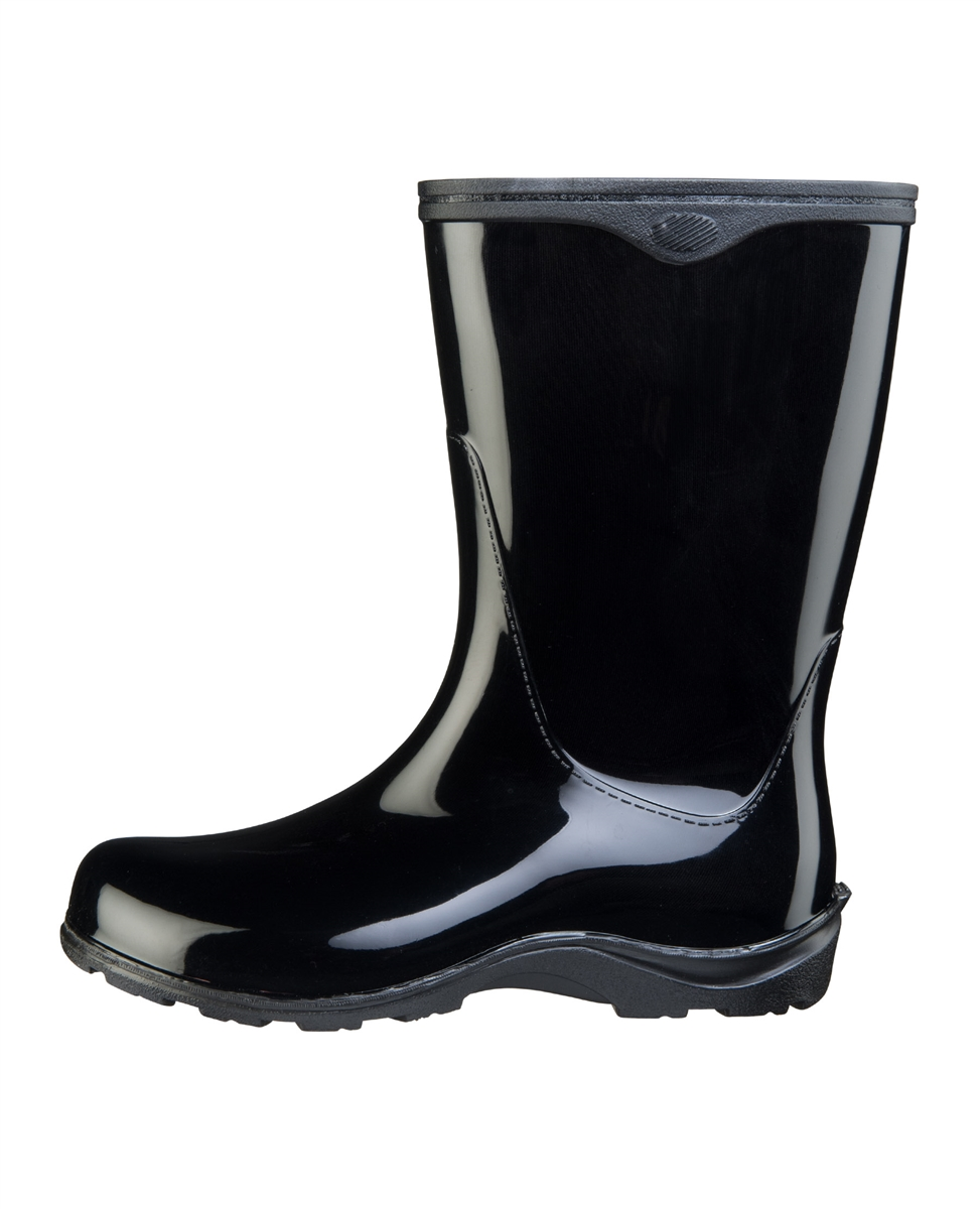 Midnight Black Fashion Boots by Sloggers. Waterproof, comfortable ...