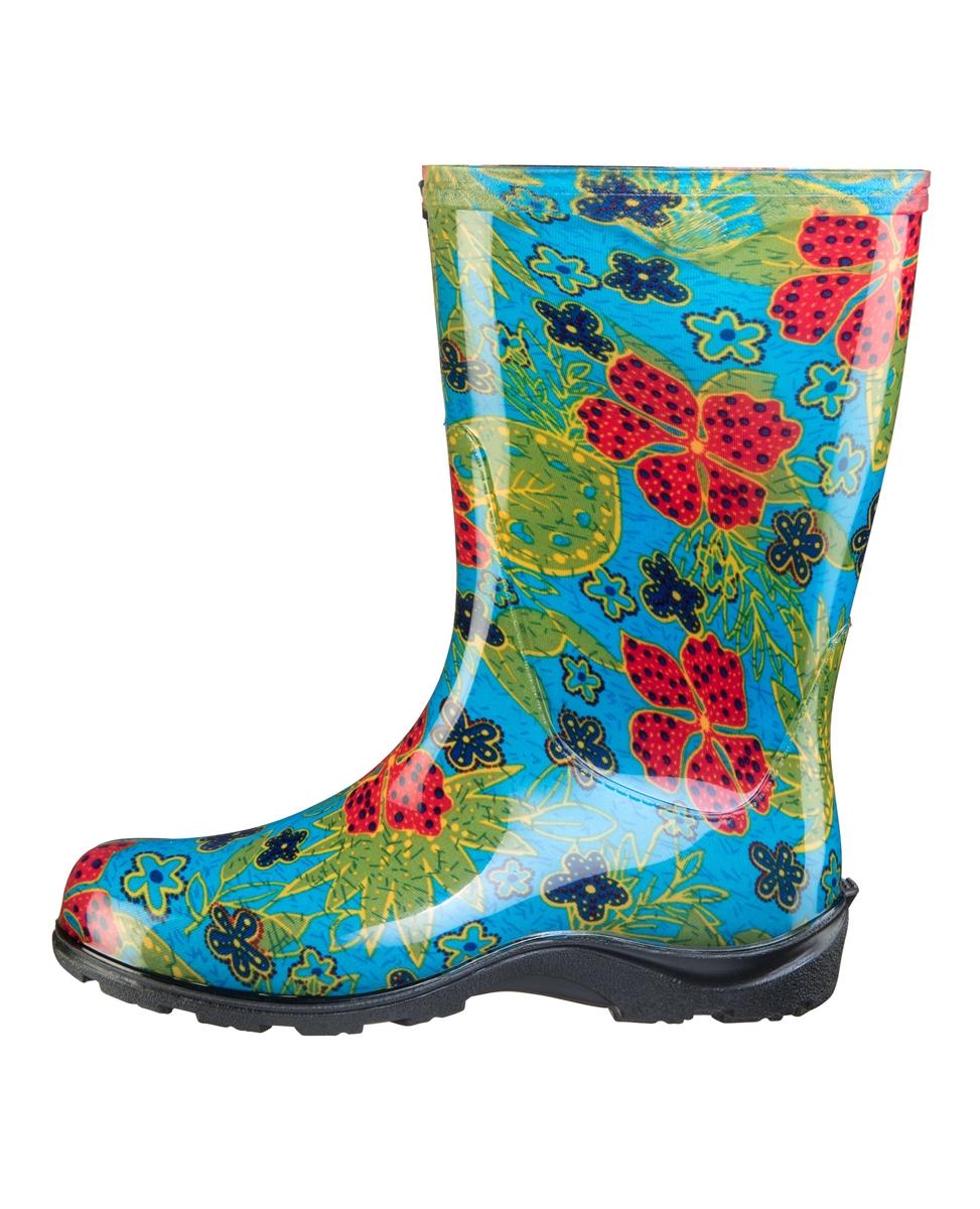 Fashion Rain Boots By Sloggers Waterproof, Comfortable -5757