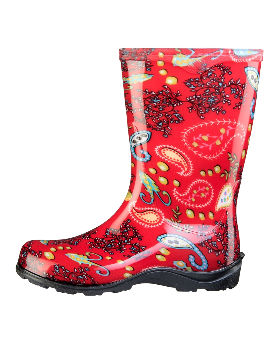Fashion Rain Boots By Sloggers Waterproof Comfortable