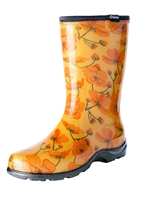 Sloggers Made in the USA Women's Rain Boots California Dreaming Print