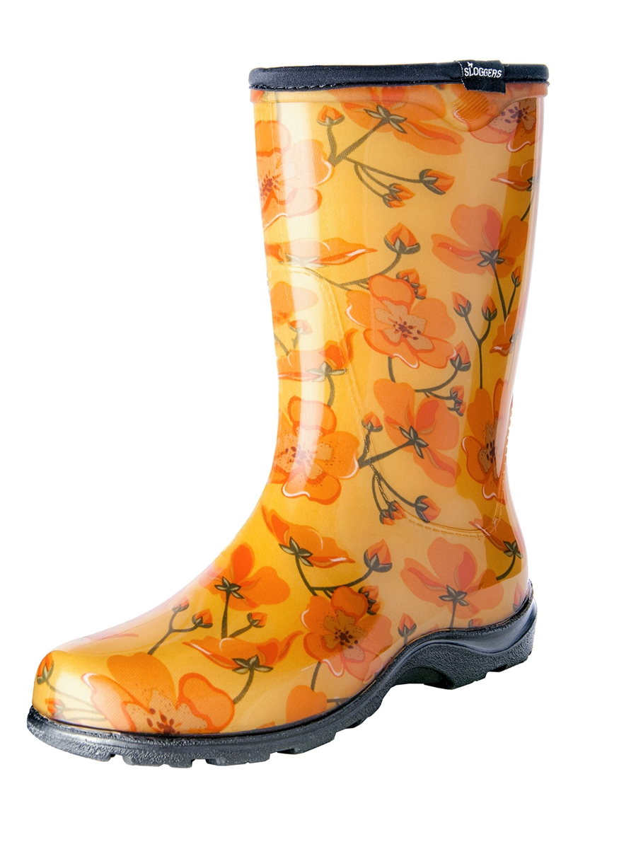 Fashion Rain Boots by Sloggers. Waterproof comfortable and fun