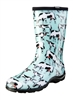 Sloggers Made in the USA  Womens Rain & Garden Boot Cow Print