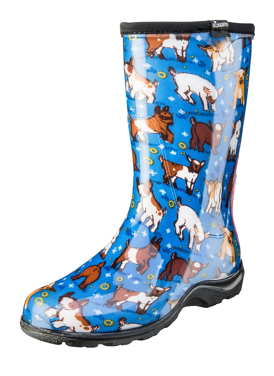 New Fashion Rain Boots By Sloggers. Waterproof Comfortable And Fun. Made In The USA. New 2017 Cow ...
