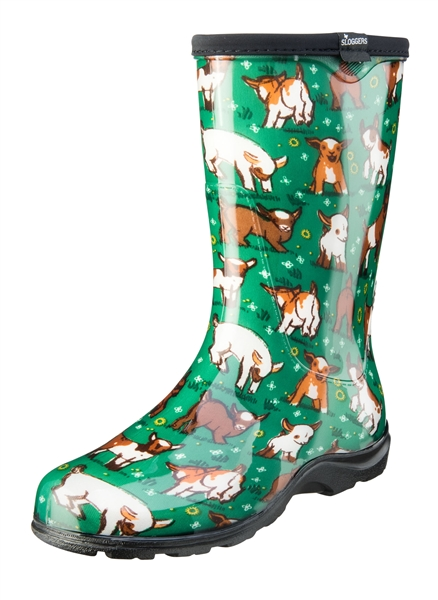 Creative Fashion Rain Boots By Sloggers. Waterproof Comfortable And Fun. Made In The USA.