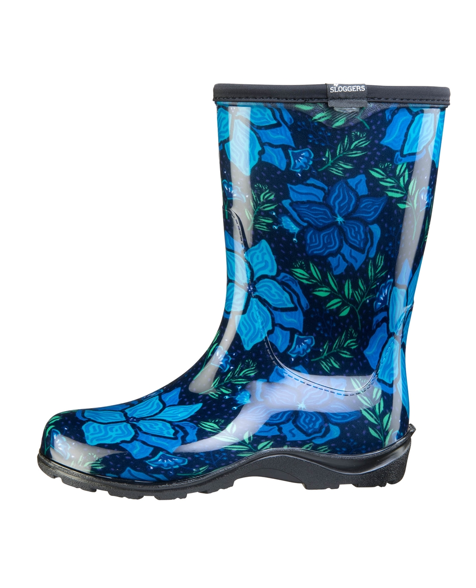 Rain Boots By Sloggers Waterproof, Comfortable And Fun -5104