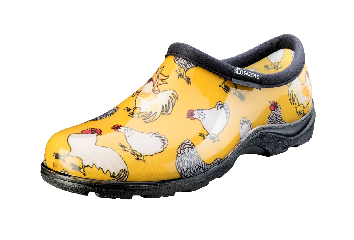 Sloggers Made in the USA Rain Garden Shoe for women in Daffodil