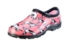 Sloggers Women's Rain & Garden Shoe in Pink Cow Print