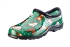 Sloggers Women's Rain & Garden Shoe in Goats Grass Green Print