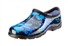 Sloggers Women's Rain & Garden Shoe in Spring Surprise Blue print
