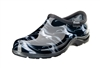 Sloggers Waterproof comfort shoes, Made in the USA! Women's Rain & Garden shoes. Horse Black Print.