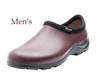Men's Rain & Garden Shoes - Leather Brown