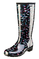 "Stride by Sloggers Rain and Fashion 14"" Tall Boot - Reflections"