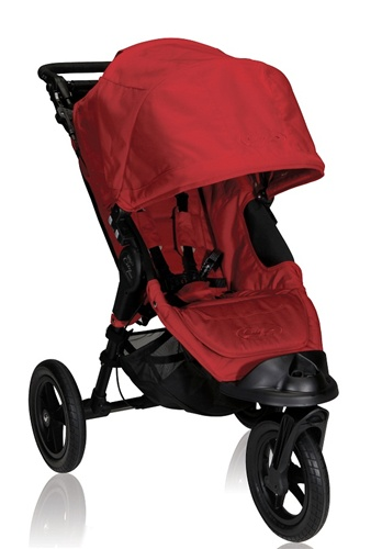City Elite Single Stroller by Baby Jogger 2012 in Red - BJ13230
