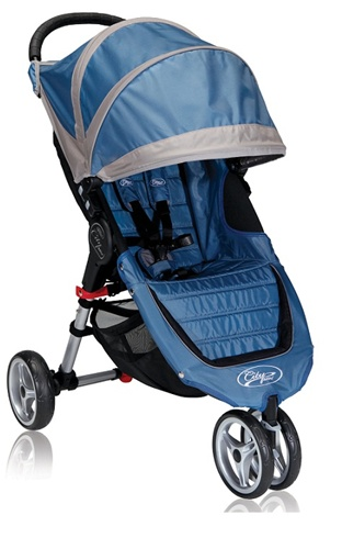City Mini Single Stroller By Baby Jogger 2013 In Blue