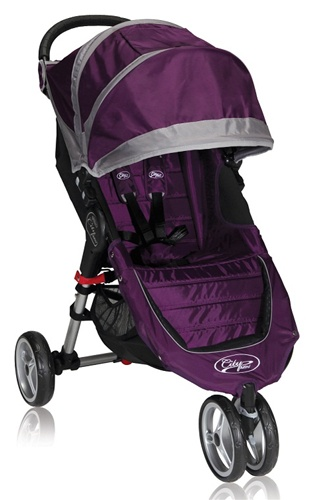 Baby Jogger City Mini Single Stroller In Purple For 2013