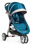The City Mini Single Stroller in Teal/Grey for 2014 - Model BJ11429