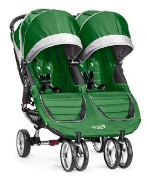 City Mini Double Stroller By Baby Jogger 2016 In Evergreen Ships Now