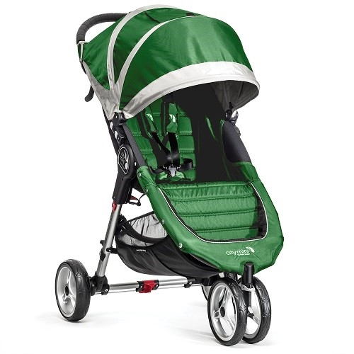 City Mini Single Stroller 2016 By Baby Jogger In Evergreen Ships Now