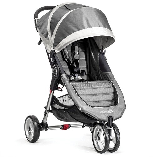 City Mini Single Stroller 2016 By Baby Jogger In Steel Grey Ships Now