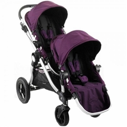 Baby Jogger City Select Double Stroller 2012 In Amethyst
