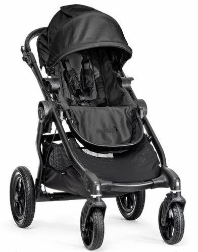 Baby Jogger City Select Stroller 2016 In Black Black Frame Special Edition